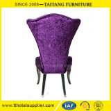 의자 호텔 의자를 식사하는 Fanshaped 뒤 금속