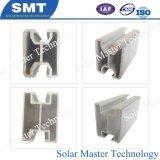 Système de montage solaire le rail en aluminium et le panneau solaire