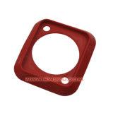Código Pantone cores personalizadas de silicone resistente ao desgaste da junta do tubo de borracha de ar