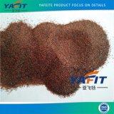 Granat-Sand des Sand-Startengranat-Sand-Wasserstrahlausschnitt-30/60