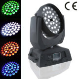 36*15W RGBWA 6in1 (UV) LED Zoom Beam Moving Head Wash DJ Light