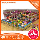 Мягкий зазор шаровой бассейн в сочетании с сдвиньте детский крытый детская площадка оборудование