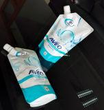 Sac de empaquetage de poche en plastique flexible de bec pour le détergent