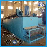 Secador contínuo do transporte com aquecimento de vapor