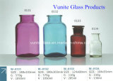 Vario Size Painted Glass Apothecary Jar con Glass Stopper Glass Container Glassware