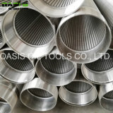 V tubo dei filtri per pozzi dell'acqua della rete metallica/tipo schermi del Johnson