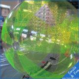 Chiusura lampo della sfera D=2m TPU1.0mm Germania dell'acqua con il formato facoltativo 2m di colori per un capretto o adulto