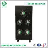 熱い販売法LCD 60kVAの世帯の単一フェーズのハイブリッド格子タイの太陽インバーター