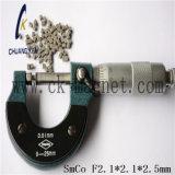 Ck 217 SmCo 자석 급료 F2.1*2.1*2.5mm
