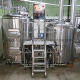 Combinado de 600l equipo de destilación de cerveza de 2 buques