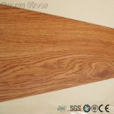 Forte résistance d'usure auto-adhésif en vinyle de bois des tuiles de plancher