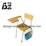 Chaise en bois avec tablette (BZ-0036)