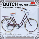 26 città olandese Bike di Speed Oma Bicycle Lady di pollice 7 per Lady (ARS-2602S)