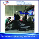 파이프라인 1000mm 큰 직경 CNC 플라스마 Oxy 연료관 절단 경사지는 기계
