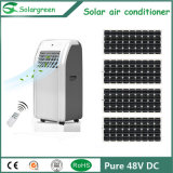 Condizionatore d'aria di piccola dimensione solare portatile 48VDC di CC di 12V 24V
