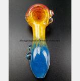 tube en verre de reprise de filtre à huile de pipe de la fumée 4.53-Inch