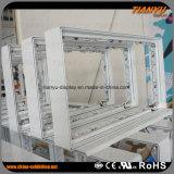 Simples, mais rápido, conjunto de alumínio, tecido, LED, luz, caixa