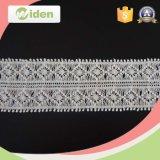 Cordón indio del guipur de la tela del bordado de los accesorios de la ropa