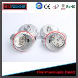 Cabeza de plata con aislamiento refractario de alta calidad de termopar
