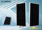Réverbères solaires automatiques de DEL avec le contrôle de téléphone de détecteur de mouvement