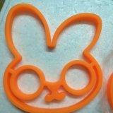 L'omelette Creativ de moulage formée par lapin neuf d'oeufs de silicones de tête de clown a fait frire le moulage d'oeufs