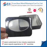 Clear PVC WindowとのカスタムPrinted Metal Tin