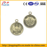 顧客3Dのロゴの彫版が付いている亜鉛合金の金属メダル