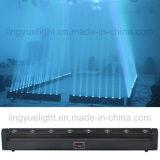 des Stadiums-8X10W Wäsche-Stab-Licht Änderungs-Farben-Träger-bewegliches des Kopf-LED