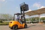 платформа грузоподъемника встречного баланса 3000kg тепловозная для сбывания