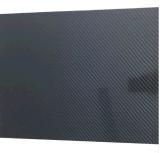 광택 있거나 광택이 없는 표면을%s 가진 3mm 4mm 5mm 탄소 섬유 장