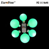 Diodo emissor de luz sem fio Ball Light de Hight Quality Christmas com Remote Control