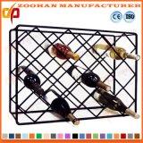 조정가능한 금속 크롬 포도주 선반 선반 전시 저장 선반설치 (Zhw145)