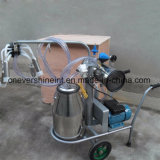 вакуумный насос машинного доения коровы Milker одного мотора Electrcal ковша