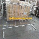 Barrière de clôture provisoire en acier de contrôle de foule