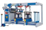 Holz drei Zeilen, die Maschinerie-Bohrmaschine-Holzbearbeitung-Maschine bohren