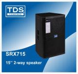 Les performances du système sonore haut-parleur installé