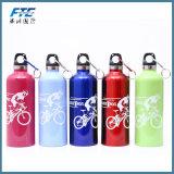 La aleación de aluminio de la bicicleta se divierte la botella de agua