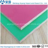 MDF barato de la melamina del color sólido del precio de la alta calidad de Shandong