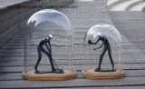 De duidelijke Wacht van het Stof van de Prijs van de Fabriek van de Stolp van het Glas