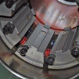 Maquinaria de friso da tubulação com os dados da cauda da andorinha