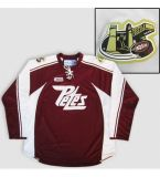 Personalizzare il pullover del hokey di ghiaccio di Ohl Peterborough Petes
