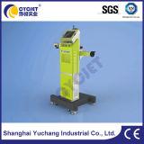 Macchina della marcatura del laser della fibra per il tubo di acqua dell'HDPE/tubi di plastica