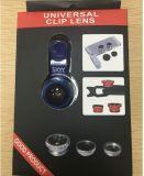 Heet Algemeen begrip 3 van de Verkoop in 1 de Reeks 180 Graad Brede Lens van de Camera van de Telefoon Fisheye van de Hoek Macro Mobiele voor Mobiele Telefoon