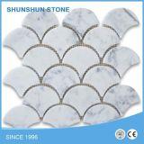 De populaire Witte Marmeren Tegels van het Mozaïek Ariston voor de Bekleding van de Vloer/van de Muur