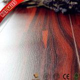 Piso laminado de madeira de ácer canadiano da Tailândia