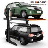 2 Pfosten-doppeltes Fußboden-Auto-hydraulischer Aufzug-Parken
