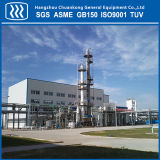 Unidade de separação de ar da planta de produção de nitrogênio líquido