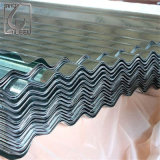 亜鉛コーティングの電流を通された波形の屋根ふきの鋼板