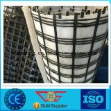 Glasfaser zweiachsiges Geogrid Composited mit PolyesterGeotextile