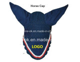 Custom Equestrian Horse Gear Fly Mask Veil Bonnet Sellerie